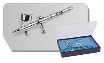 BD180K  Airbrush pistool met 0,2mm en 0,3mm needle/nozzle