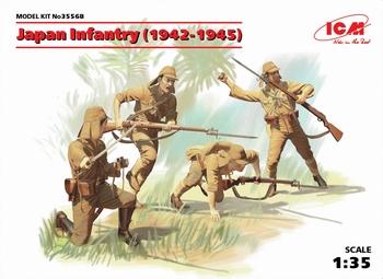 ICM35568  Japanse infanterie (1942-1945)  1:35 kit
