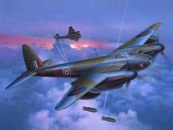 RE3923  D.H. Mosquito Bomber  1:48 kit
