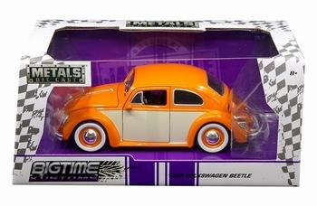 990186  Volkswagen Beetle 1959 Orange Cream  1:24