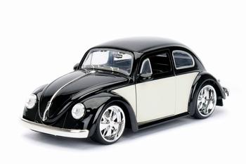 990182  Volkswagen Beetle 1959  Black Cream  1:24