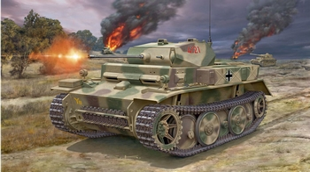 RE3266  PzKpfw II Ausf.L LUCHS (Sd.Kfz.123)  1:72 kit