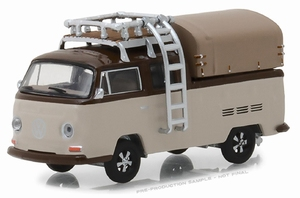 29920E  Volkswagen T2 Double Cab Pick-Up with Roof Rack  1:64