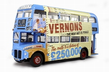 2905  Routemaster Vernon's Pools 1959  1:24