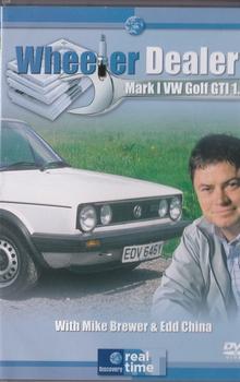 5778  Wheeler Dealers - Mark 1 VW Golf Mk1 GTI 1.8  DVD