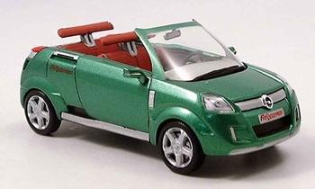 53358  Opel Frogster 2001 (groen)  1:43