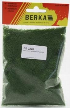 0223  Decoratievlok  mosgroen fijn  7 gram