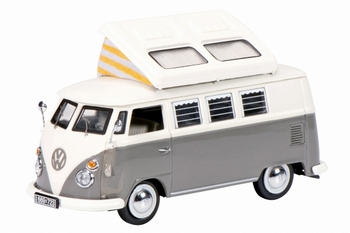 03545  VW T1 Campingbus, grey/white  1:43