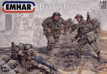 EM3501  British (WWI) Infantry  1:35 kit