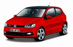 210591  Volkswagen Polo GTI M5  rood 1:24