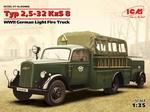 ICM35403  Typ 2,5-32 KzS 8, WWII German Light Fire Truck 1:35 kit