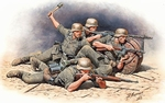 MB35102  German Infanterie East Front WWII 1:35 kit