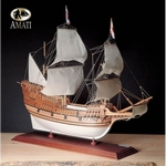 1413  Mayflower - English Galleon 1620 1:60 kit