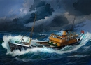 RE5204  Northsea Fishing Trawler 1:142 kit