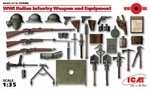 ICM35686  WWI Italian Infantry Weapon and Equipment 1:35 kit