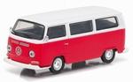 29790D  Volkswagen T2  Bus 1968  rood/wit 1:64