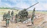 IT6122  WWII - Italian 90/53 Gun W/SERV. 1:72 kit