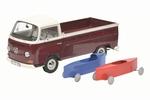 0182  Volkswagen T2a met zeepkisten 1:18