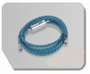 BD29  Airbrush slang blauw 180 cm - G1/8-G1/8 1,80 m