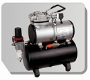 AS189  Airbrush mini compressor met luchttank