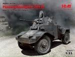 ICM35374  Panzerspähwagen P 204 WWII German Armoured Vehicle 1:35 kit