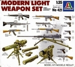 IT6421  Modern Light Weapon Set 1:35 kit