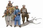 TR00436  Afghan Rebels x 4 figures 1:35 kit