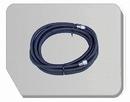 BD24-1000  Airbrush slang zwart 1000 cm -1/8 bi - 1/8 bi 10 meter