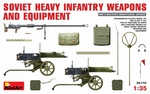MA35170  SOVIET  Heavy  Infantry Weapons  and  Equipment 1:35 kit