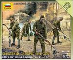 ZV6108  Soviet Engineers 1:72 kit