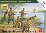 ZV6144  Soviet Border Guards 1:72 kit