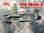 ICM72292  FW 189 A-2, Duits verkenningsvliegtuig II CF 1:72 kit