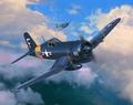 RE3955  F4U-4 Corsair 1:72 kit
