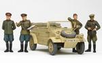T25153   WWII Rus. Kübelwagen + 4 Figuren 1:35 kit