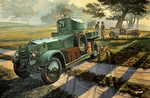 RO-R801 British Armoured Car Pattern 1920 Mk.I 1:35 kit