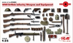 ICM35683  WWI British Infantry Weapon and Equipment 1:35 kit