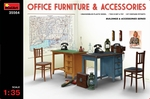 MA35564  Office Furniture & Accessories 1:35 kit