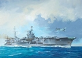 RE5149  HMS Ark Royal & Tribal Class Destroyer 1:720 kit