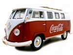 397471  VW T1 Coca Cola Bus 1962 1:18
