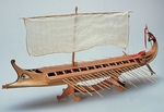 1404  Greek Bireme 1:35 kit