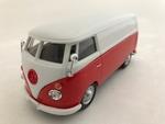534379  Volkswagen T1 Transporter  rood/wit 1:43