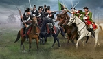 2453  Seven Years War Austrian Dragons + Prussian Hussars 1:72 kit