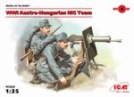 ICM35697  WWI Austro-Hungarian MG Team (2 figures) 1:35 kit