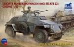 BC35013  Leichte Panzerspahwagen (MG) Sd.Kfz.221 1:35 kit