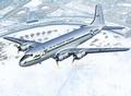 RE3910  C-54D Skymaster 70th Anniversary Berlin Airlift 1:72 kit