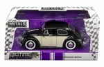 990188  Volkswagen Beetle 1959 Black Cream 1:24