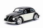 990182  Volkswagen Beetle 1959  Black Cream 1:24