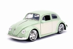 990183  Volkswagen Beetle 1959  Green Cream 1:24