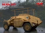 ICM48194  Sd.Kfz.261, German Radio Communication Vehicle 1:48 kit