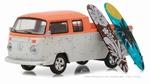 97030F  Volkswagen T2 Doka with Surfboard 1:64